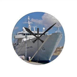 Liner Aegean Pearl Clocks