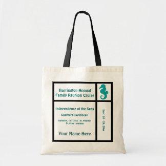 Liner Seahorse Cruise Canvas Bag