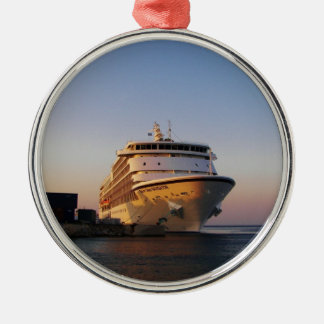 Liner Seven Seas Navigator Silver-Colored Round Decoration