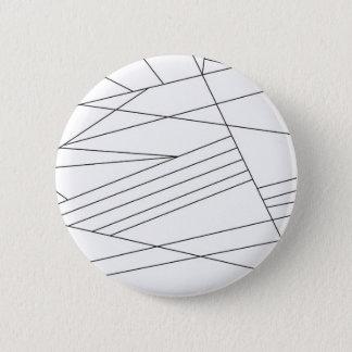 Lines 6 Cm Round Badge