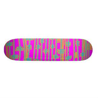 Lines Abstract - Retro Skate Decks