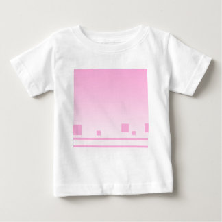 Lines and Squares. Pink Abstract Design. Shirts