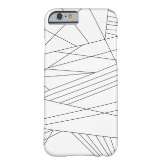 Lines Barely There iPhone 6 Case