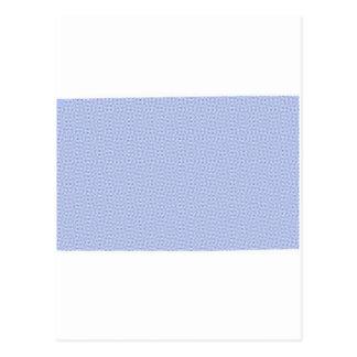 Lines- Blue & White Postcard