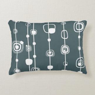 lines_grey decorative cushion