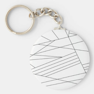 Lines Key Ring