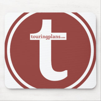 Lines Mousepad (Red on White)