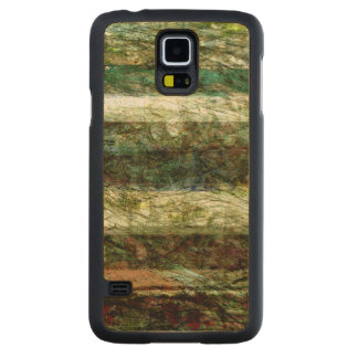 Lines of Nature II Carved Maple Galaxy S5 Case
