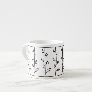 Lines of Vines Espresso Cup