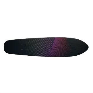 Lines on Black Skate Boards