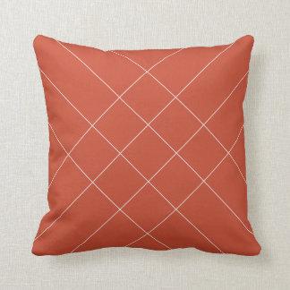 Lines warmbruin cushion