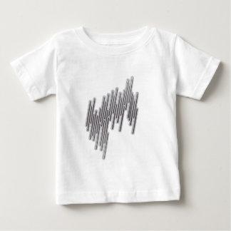 Lines-(White) Baby T-Shirt