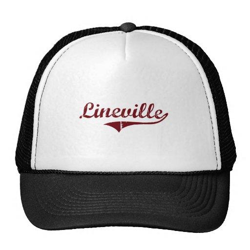 Lineville Alabama Classic Design Hats