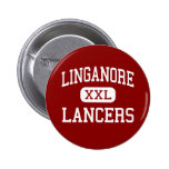 Linganore - Lancers - High - Frederick Maryland Pinback Button