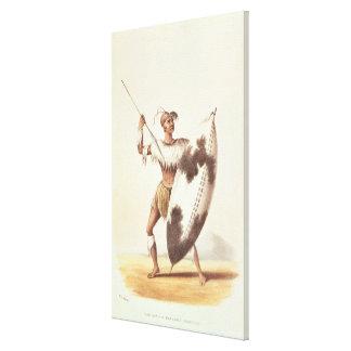 Lingap, a Matabili Warrior Canvas Print