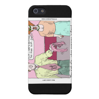 Lingerie Shop Pink Slip Funny Gifts Cards Etc iPhone 5 Case