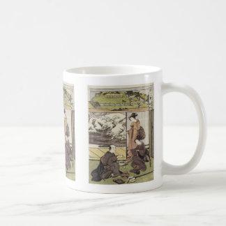 Lingering Snow, Shunsho, 1772 Mug