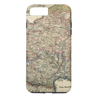 Linguistic map of France iPhone 8 Plus/7 Plus Case