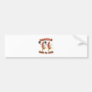 Link To Link Bumper Sticker
