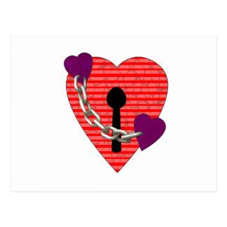 linked harts postcard