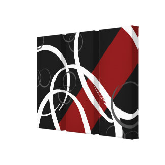 Linked Rings Canvas Print