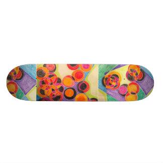 Linked Skateboard Deck