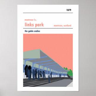 Links Park, Montrose. Poster