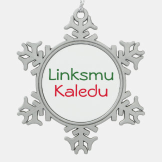 Linksmu Kaledu - ornament