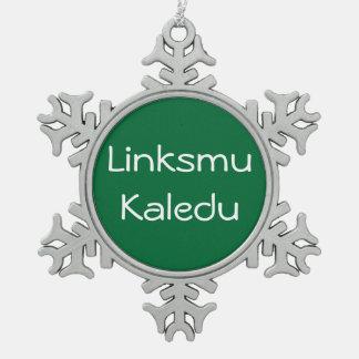 Linksmu Kaledu - ornament