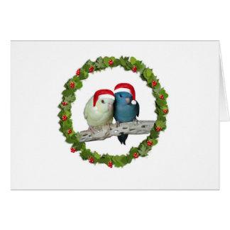 Linnie Christmas wreath Card