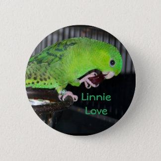 Linnie Love Parrot Button