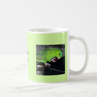 Linnie Parrot Mug Soft Green 11 oz Coffee Mug