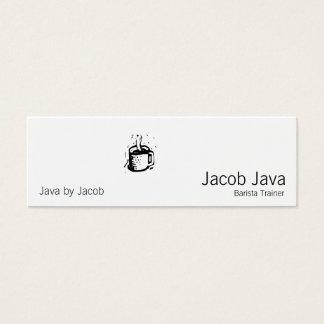 Lino Coffee Cup Mini Business Card