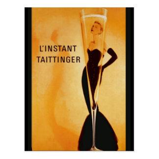 L'Instant Taittinger Postcard
