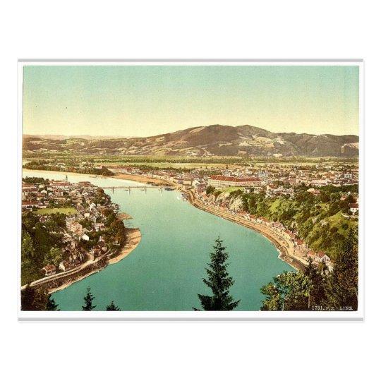Lintz (i.e., Linz), general view, Upper Austria, A