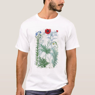 Linum, Garden poppies and Abrotanum T-Shirt