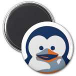 Linux Baby Tux II 6 Cm Round Magnet