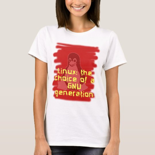 Linux: Choice of a GNU Generation T-Shirt