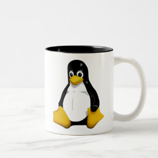 Linux  /dev/mug Two-Tone mug