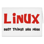 Linux Geek and more Products & Designs! Card