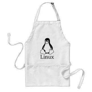 Linux Logo w/ Tux the Linux Penguin Standard Apron