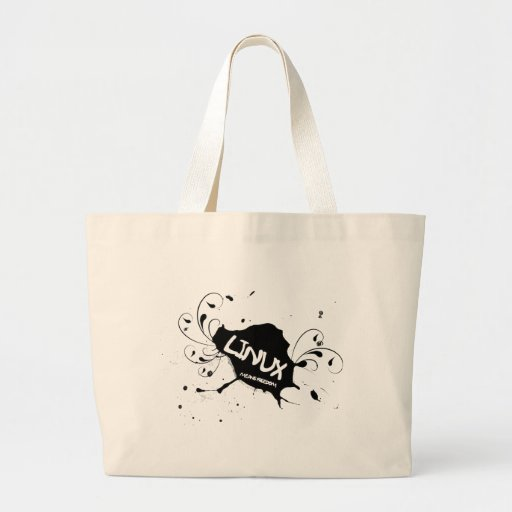 Linux Means Freedom Bag