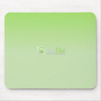 Linux Mint Green Mouse Mat