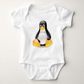 linux-penguin-tux baby bodysuit