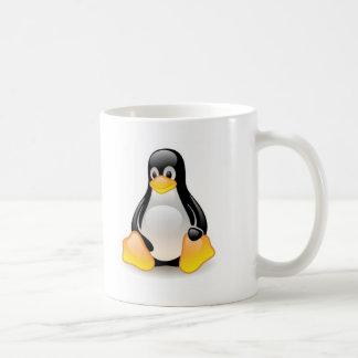 linux-penguin-tux basic white mug