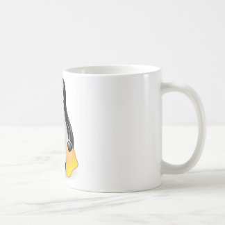linux-penguin-tux classic white coffee mug