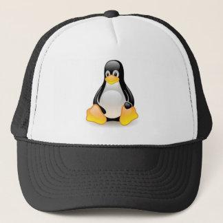 linux-penguin-tux trucker hat
