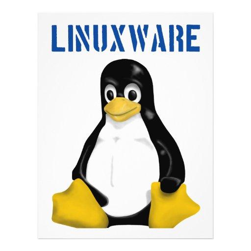 Linux Products & Designs! 21.5 Cm X 28 Cm Flyer