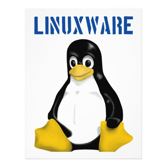 Linux Products & Designs! 21.5 Cm X 28 Cm Flyer