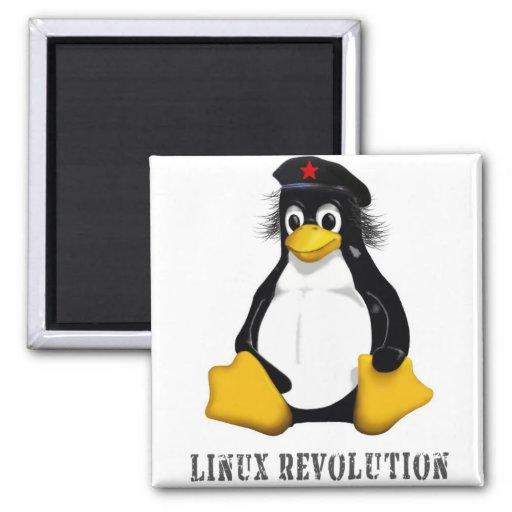Linux Revolution Refrigerator Magnet